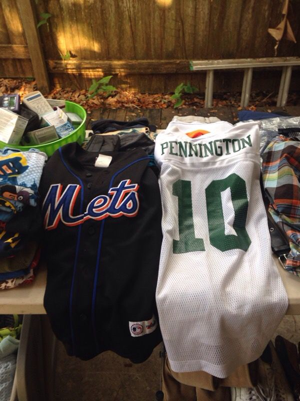 low priced 2adf6 caa87 Authentic jets and mets boys jerseys for Sale in Clearwater, FL - OfferUp