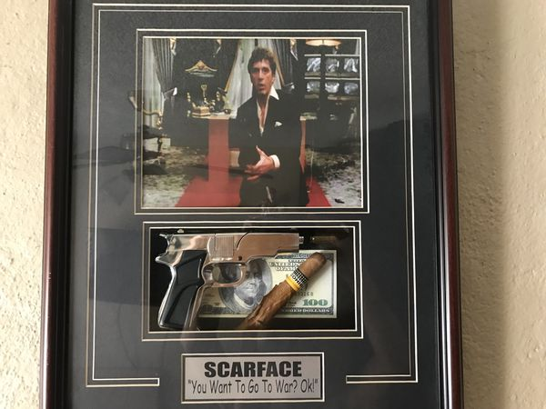 Collectible Scarface Frame For Sale In Fullerton Ca Offerup
