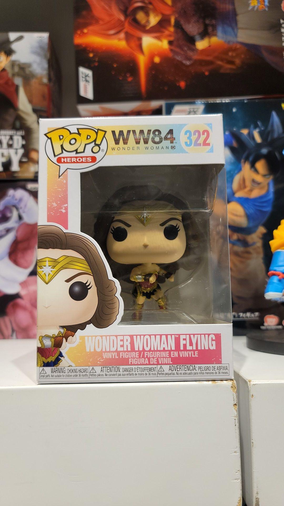 WONDER WOMAN FLYING # 322 Funko POP! WW84