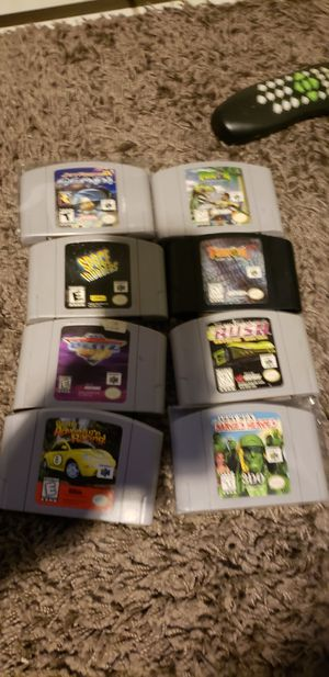 N64 game lot for Sale in Washington, DC