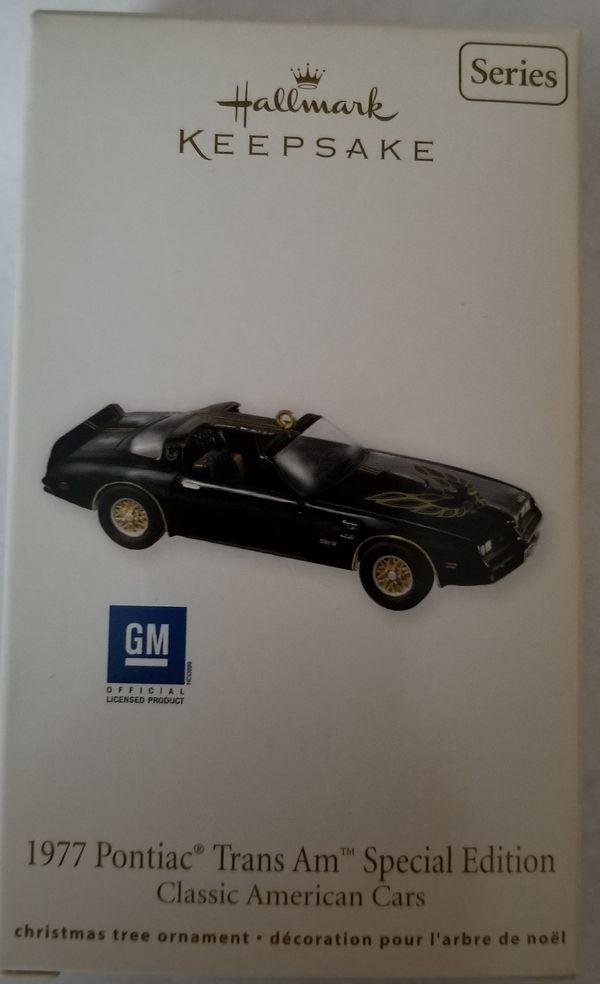 Hallmark Keepsake Ornament 1977 Pontiac Trans Am For Sale In