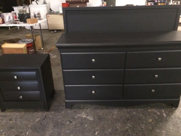 Black Queen Size Bedroom Set Delivery W For Sale In