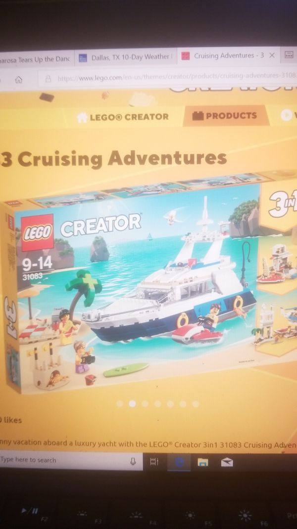 NEW LEGO 31083 CRUISING ADVENTURES SET   $30 for Sale in Dallas, TX -  OfferUp