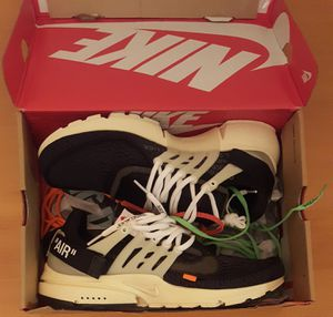 Nike Air Presto Off-White for Sale in Arlington, VA