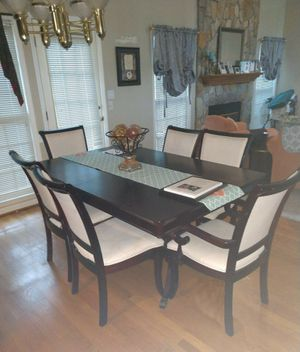 Beautiful Dining Room Table Set With Hutch For Sale In Greensboro NC