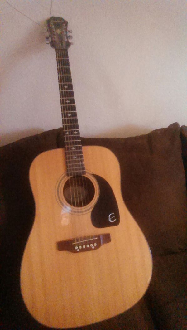 gibson epiphone acoustic guitar for sale in mesa az offerup. Black Bedroom Furniture Sets. Home Design Ideas