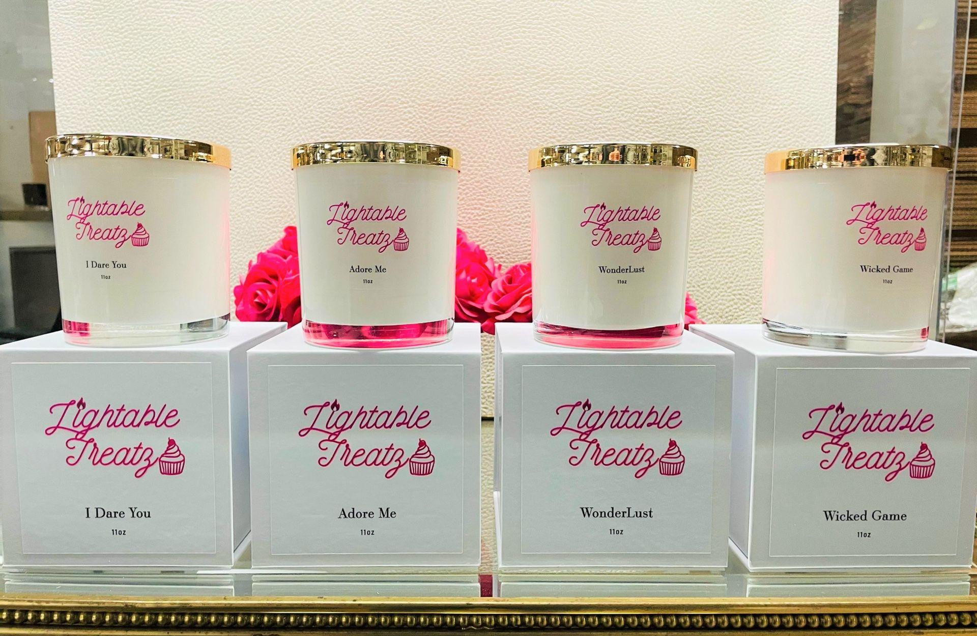 Organic Candles Treatz