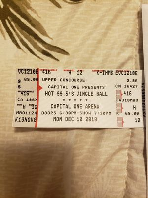 Jingle ball for Sale in Springfield, VA