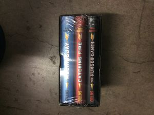 The hunger games trilogy by Suzanne Collins for Sale in Dallas, TX