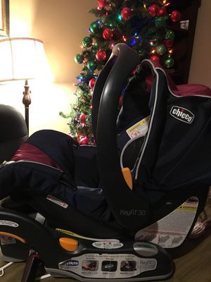 Photo Chicco Keyfit infants car seat like new , perfect condition