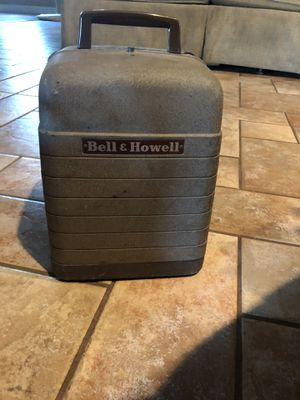 Photo Vintage Bell and Howell 8mm Projector