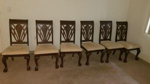 dinning table with six chairs for Sale in Alexandria, VA