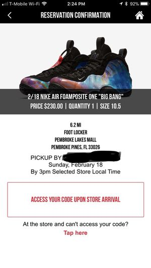 new product 4bcf8 6ad96 Nike foamposite galaxy Big Bang for Sale in Pembroke Park, FL - OfferUp