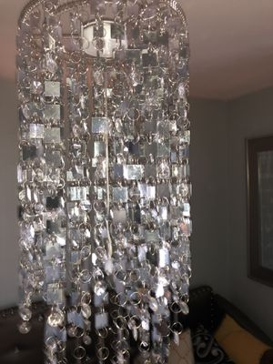 Silver chandelier for Sale in Worcester, MA