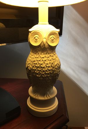 Owl Lamp with shade included for Sale in Marietta, GA