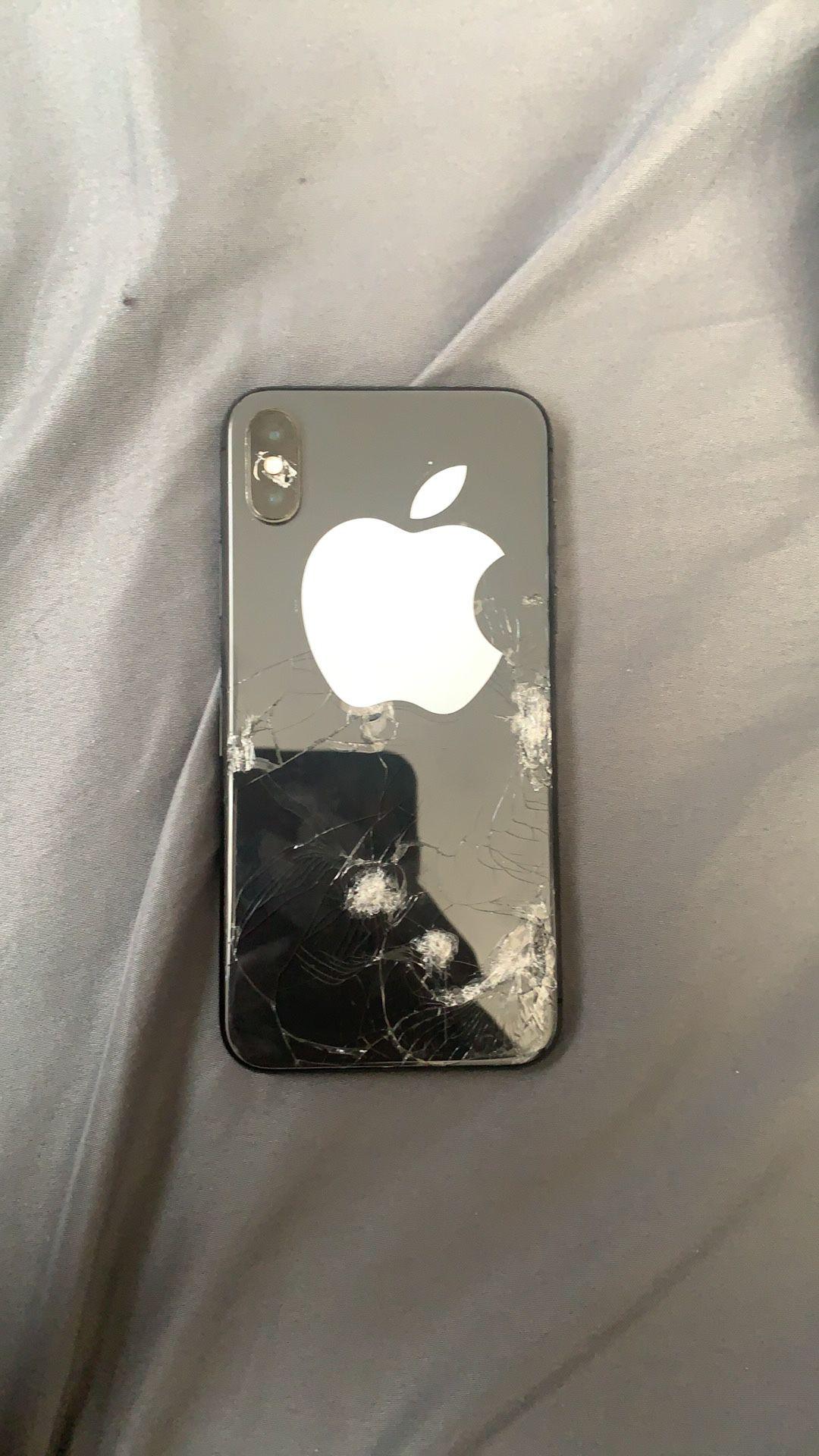 Locked iphone x