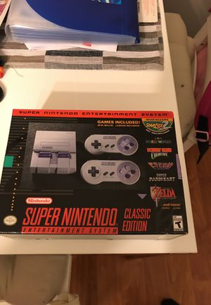 Super Nintendo Entertainment System *Classic Editon* for Sale in Gaithersburg, MD