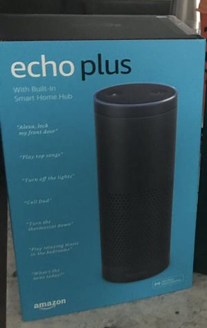 Amazon Echo Plus with built-in Hub – Black for Sale in Clarksburg, MD