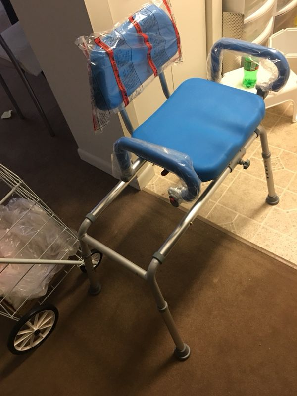 Carousel Sliding Transfer Bench with Swivel Seat.... for Sale in ...