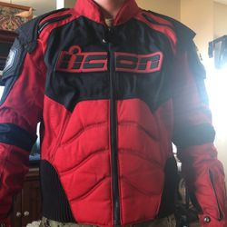 Icon Timax XL Motorcycle Jacket Thumbnail