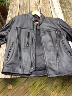 Men's XL Leather Motorcycle Jacket for Sale in Ijamsville, MD