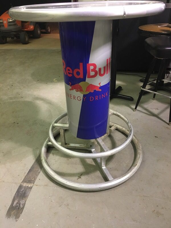 Aluminum redbull bar table for sale in wellford sc offerup watchthetrailerfo