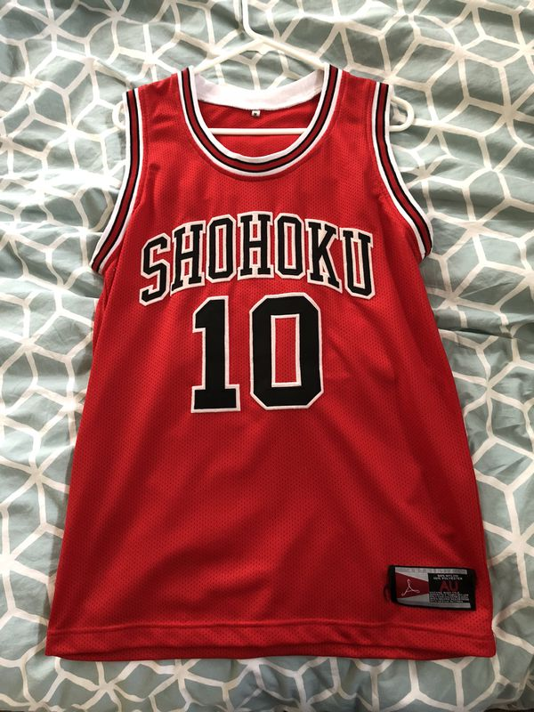 Shohoku  10 Jersey Slam Dunk! Size M for Sale in Seattle 83e3a354f