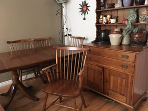 1950's table and hutch set for Sale in Salt Lake City, UT