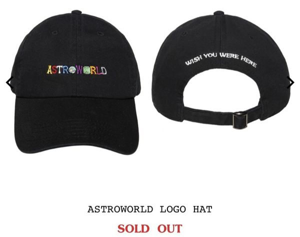 a5a0c2b3a1857 Travis Scott Astroworld Merch Hat for Sale in Houston