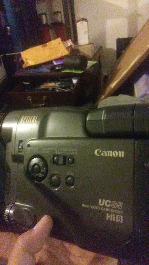Very Rare Vintage Canon UCS5 Hi 8 8mm Video Camcorder 1993 for Sale in Dallas, TX