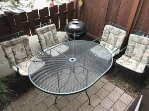 Outdoor Furniture Set Table 4 Chairs For In Seattle Wa