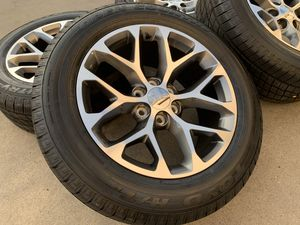Photo 20 GMC Sierra Wheels TPMS Yukon Cadillac Escalade 6x5.5 Tires Rims