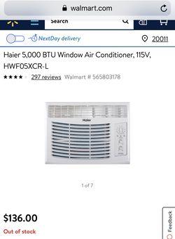 Haier Window AC Unit Thumbnail