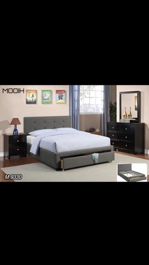 BED W/ DRAWERS NEW IN BOX FULL/ QUEEN/ KING CAMA NUEVA EN SU CAJA for Sale in Coral Gables, FL