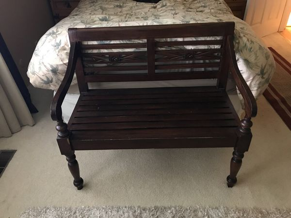 Beautiful Solid Wood Bench From Indonesia For Sale In San Rafael Ca Offerup