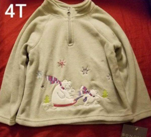 99e00b575 4T SONOMA fleece sweater