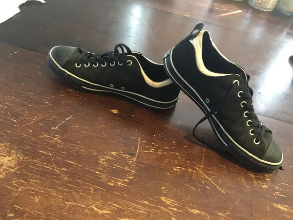 415ec123021c0c Black and white converse for Sale in San Diego