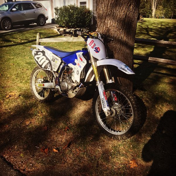 O4yzf 250 f does need a top end