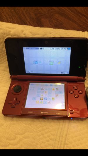 Black and red Nintendo 3ds for Sale in Gautier, MS