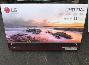"""LG 55UJ6540 55"""" 4K UHD HDR LED Smart TV 2160p (FREE DELIVERY) for Sale in Renton, WA"""