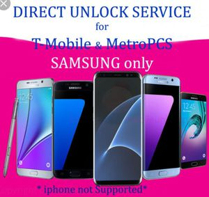 Samsung Phones unlock service for Sale in Silver Spring, MD