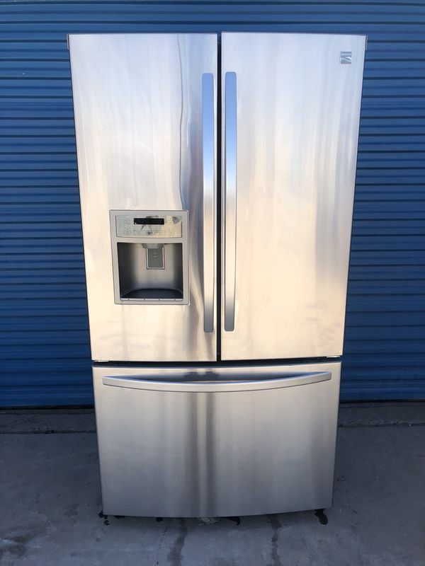 Kenmore French Door Stainless Steel Refrigerator 30 Day