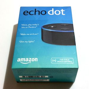 Amazon Echo Dot 2nd Gen w/ Alexa (Black) BRAND NEW & SEALED for Sale in San Diego, CA
