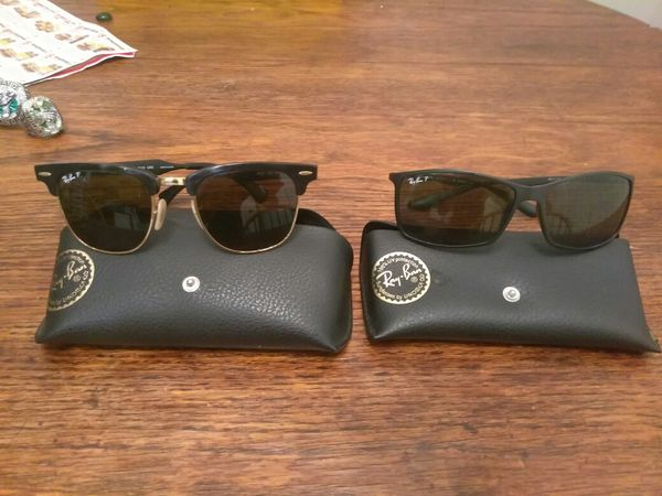 e7b3c7516bf Two pairs of authentic Ray-Ban sunglasses for Sale in Fort Myers