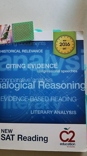 SAT reading C2 education book for Sale in Germantown, MD