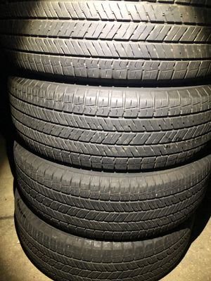 4 good use tires Yokohama 225/65/17 for Sale in Herndon, VA