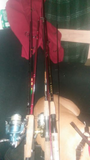 Assorted Fishing Poles for Sale in Everett, WA