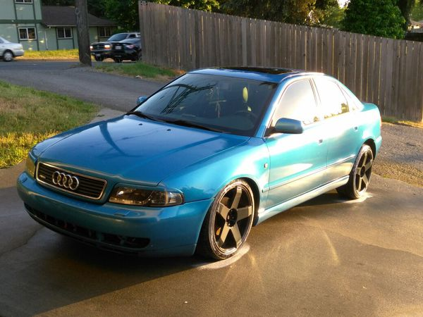 99 Audi A4 Quattro Upgraded