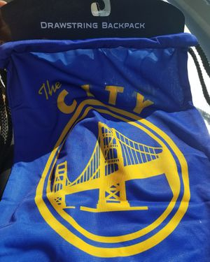 The City Warriors Drawstring backpack for Sale in Modesto 588e9c9c0551f