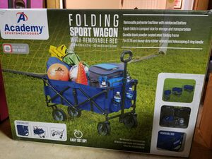 Large Folding sport Wagon (new in box) for Sale in Annandale, VA